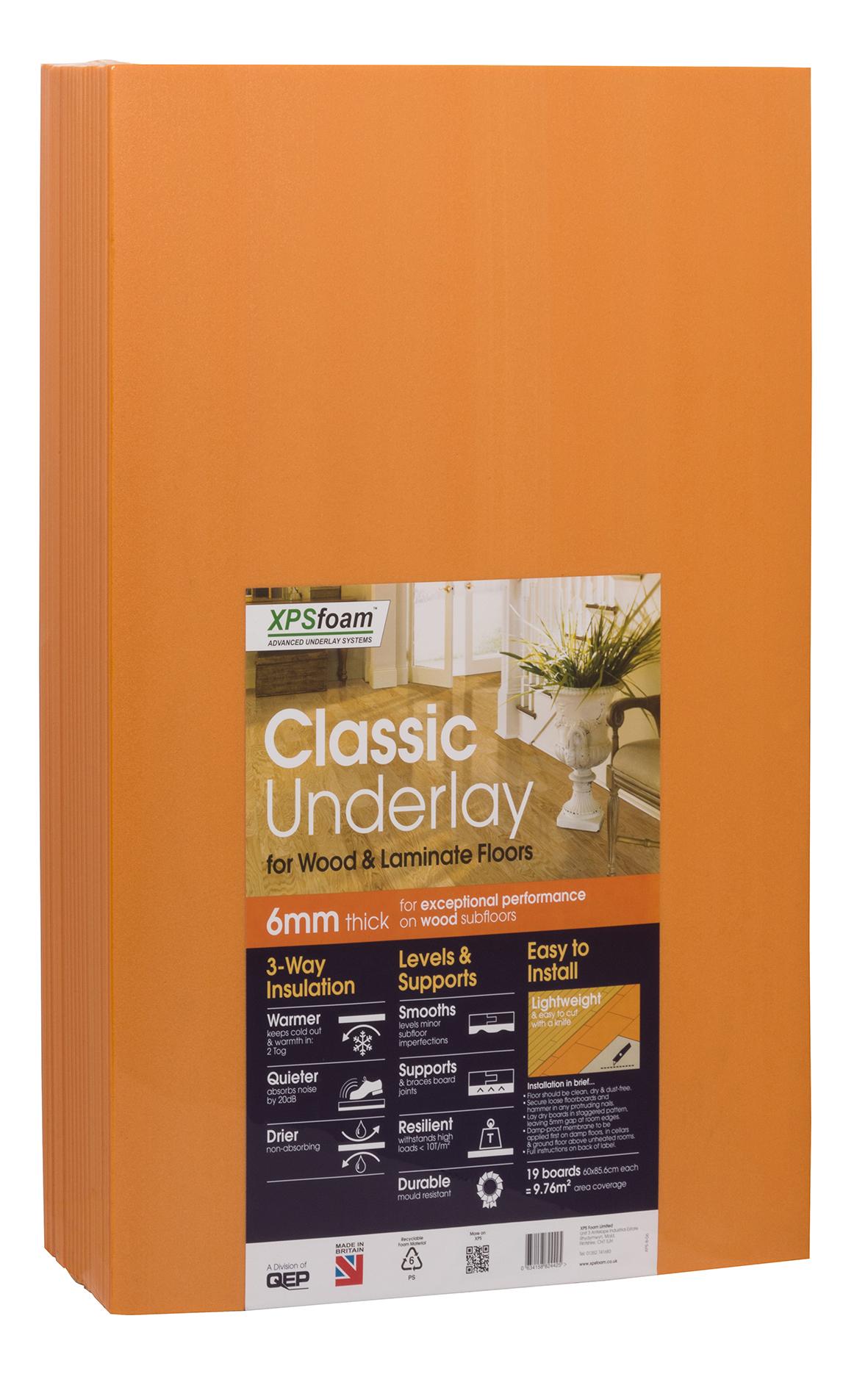 Classic Underlay 6mm